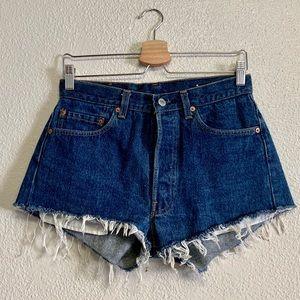 Levi's 501 Distressed Cutoff Shorts